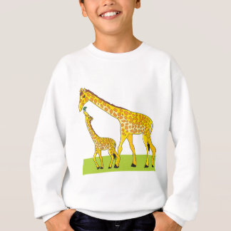 Giraffe and Baby Sweatshirt