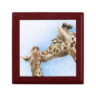 Giraffe and Calf Gift Box