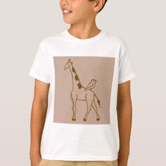 Giraffe and Sparrow Shirt