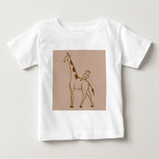 Giraffe and Sparrow T-shirts