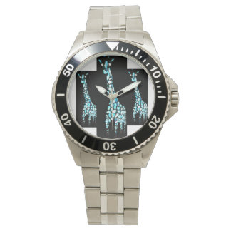Giraffe Animal Art Watch
