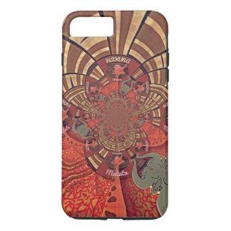 Giraffe Animal Hakuna Matata Design iPhone 8 Plus/7 Plus Case