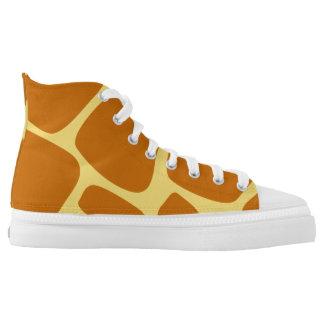 Giraffe Animal Print High Tops