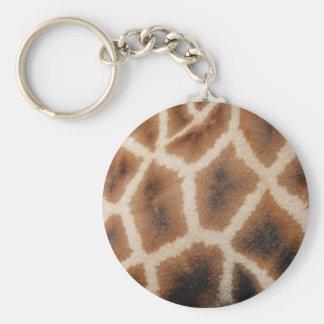 Giraffe Animal Print Key Chains