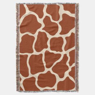 Giraffe Animal Print Throw Blanket Gift