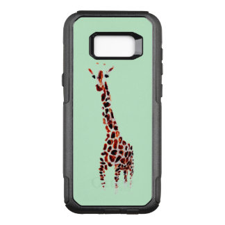 Giraffe Art OtterBox Commuter Samsung Galaxy S8+ Case