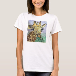 GIRAFFE ART T SHIRT BIRTHDAY CHRISTMAS PRESENT