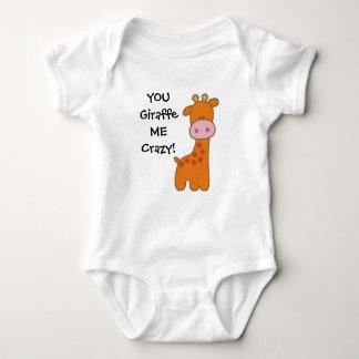 Giraffe Baby Shirt