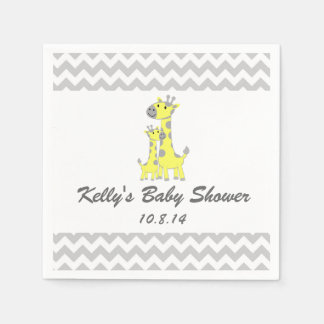 Giraffe Baby Shower Disposable Napkin
