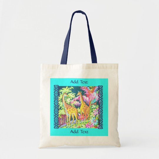 Giraffe Bag Giraffe Tote