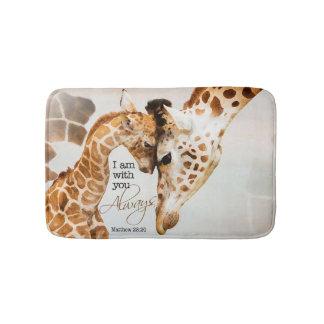 giraffe bath mat bath mats