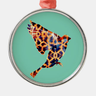 Giraffe Bird Christmas Ornament