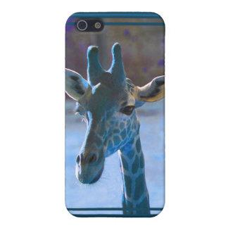 Giraffe Blue iPhone4 Case Case For iPhone 5