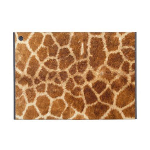 Giraffe Body Fur Skin Case Cover iPad Mini Cover