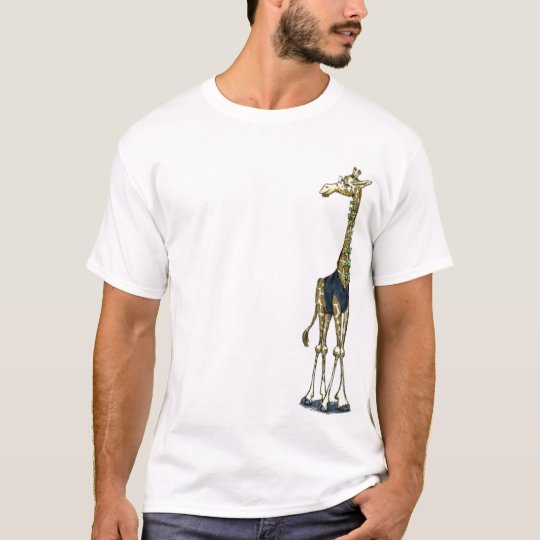 Giraffe Bow Tie Guy T-Shirt