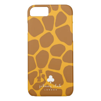Giraffe (Brown-Yellow) iPhone 8/7 Case