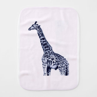 Giraffe Burp Cloth