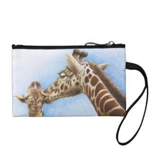 Giraffe & Calf Coin Purse