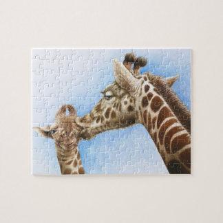 Giraffe & Calf Puzzle