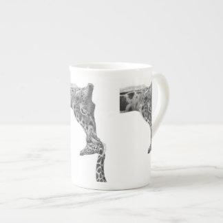 Giraffe & Calf Specialty Mugs Bone China Mug