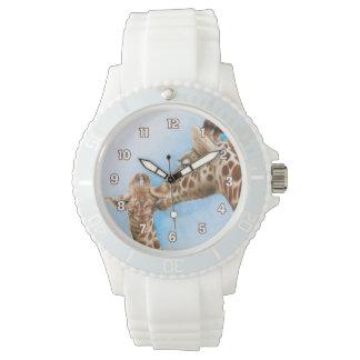 Giraffe & Calf Watch