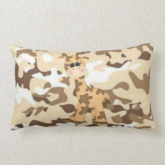 Giraffe Camoflauge Lumbar Cushion