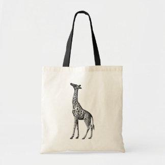 Giraffe Canvas Bag