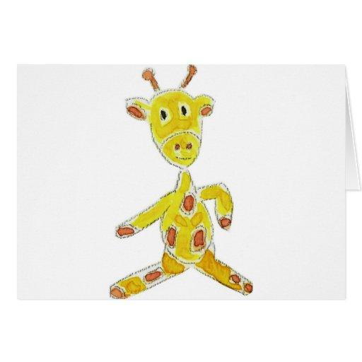 Giraffe Cards