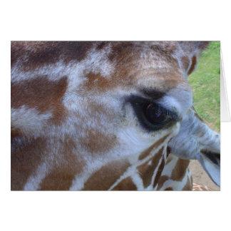 Giraffe Card! Greeting Card