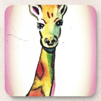 Giraffe Cartoon Coaster