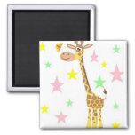 giraffe cartoon fridge magnets
