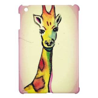 Giraffe Cartoon iPad Mini Cover