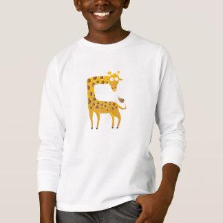 giraffe cartoon. T-Shirt