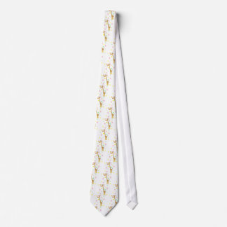 giraffe cartoon tie