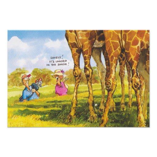 Giraffe cartoons for kids photograph