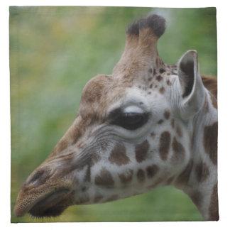 Giraffe Cloth Napkins