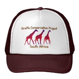 Giraffe Conservation Project Safari Cap