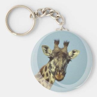 Giraffe Design  Keychain