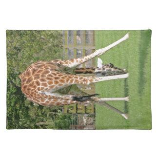 Giraffe Design Place Mats