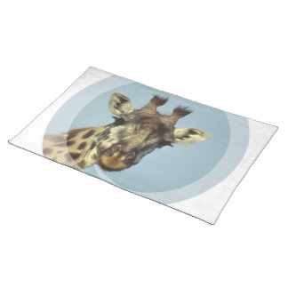 Giraffe Design Placemat