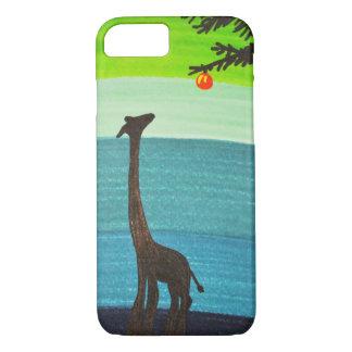 Giraffe Doodle Phone Case