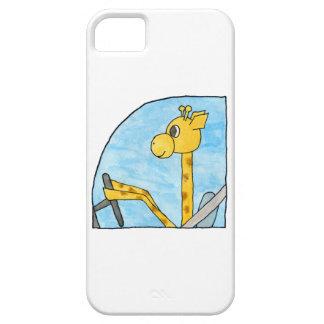 Giraffe Driving a Car iPhone 5 Case