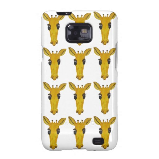 Giraffe Face iPhone Cases Samsung Galaxy S2 Covers