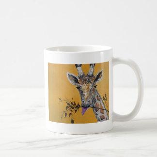 Giraffe Face Painting Coffee Mug