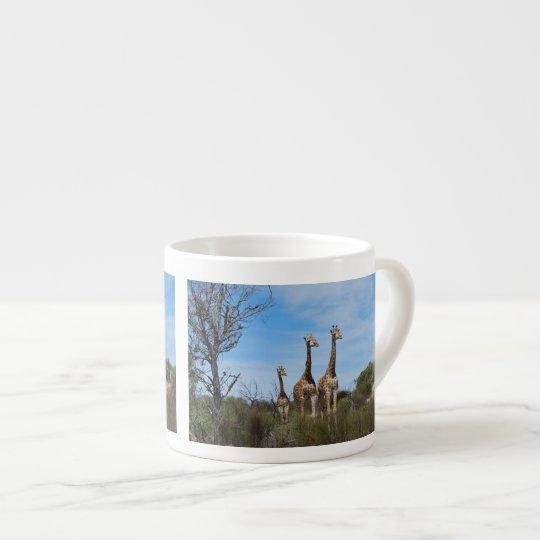 Giraffe Family Espresso Cup