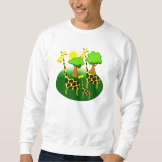 Giraffe Family Sweatshirt