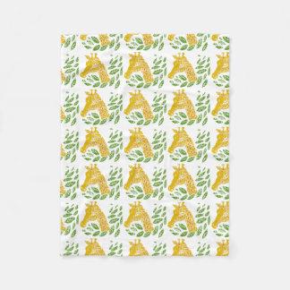 Giraffe. Fleece Blanket