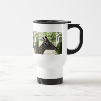 Giraffe Foraging Travel Mug