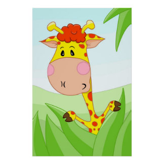 Giraffe from Africa Poster