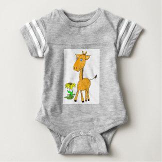 giraffe fun day baby bodysuit